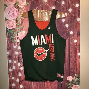University Of Miami Reversible Large Tank Top
